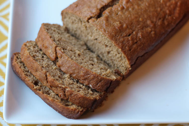 Cinnamon Applesauce Bread. Easy to make, tasty, and freezer friendly.