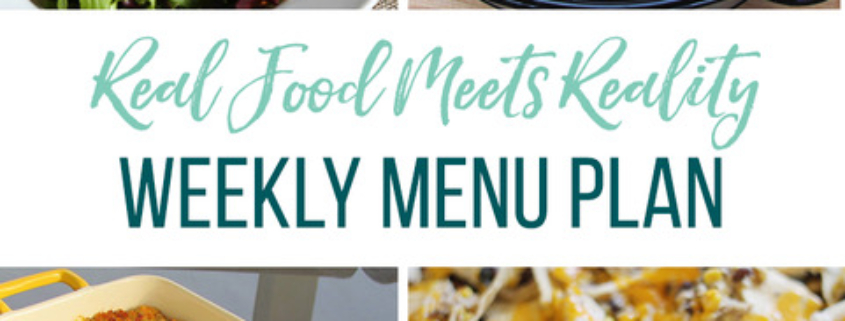 Real Food Menu Plan for October 6 to October 12: Easy and delicious meal ideas that the whole family will love. Posted every Friday at Thriving Home. Easy and delicious meal ideas that the whole family will love. Posted every Friday at Thriving Home.