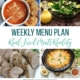 Real Food Menu Plan for November 17 to November 22: Easy and delicious meal ideas that the whole family will love. Posted every Friday at Thriving Home. Easy and delicious meal ideas that the whole family will love. Posted every Friday at Thriving Home.