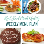 Real Food Menu Plan for December 22 to December 28: Easy and delicious meal ideas that the whole family will love. Posted every Friday at Thriving Home. Easy and delicious meal ideas that the whole family will love. Posted every Friday at Thriving Home.