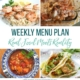 Real Food Menu Plan for December 8 to December 14: Easy and delicious meal ideas that the whole family will love. Posted every Friday at Thriving Home. Easy and delicious meal ideas that the whole family will love. Posted every Friday at Thriving Home.
