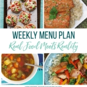Real Food Menu Plan for December 1 to December 7: Easy and delicious meal ideas that the whole family will love. Posted every Friday at Thriving Home. Easy and delicious meal ideas that the whole family will love. Posted every Friday at Thriving Home.