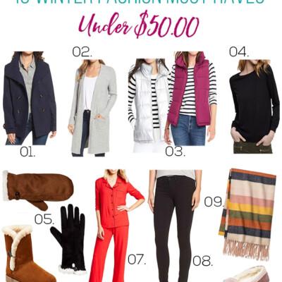 10 Winter Fashion Must-Haves Under $50