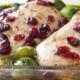 Healthy, delicious cranberry balsamic chicken