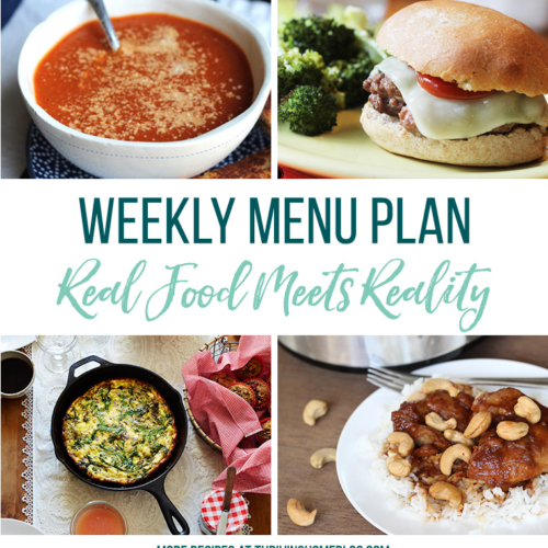 Real Food Menu Plan for January 15 to January 21: Easy and delicious meal ideas that the whole family will love. Posted every Friday at Thriving Home. Easy and delicious meal ideas that the whole family will love. Posted every Friday at Thriving Home.