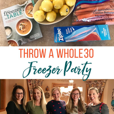 Whole30 Freezer Party Makes Meal Prep a Cinch