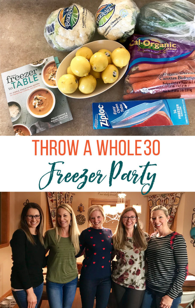 Throw a Whole30 Freezer Party