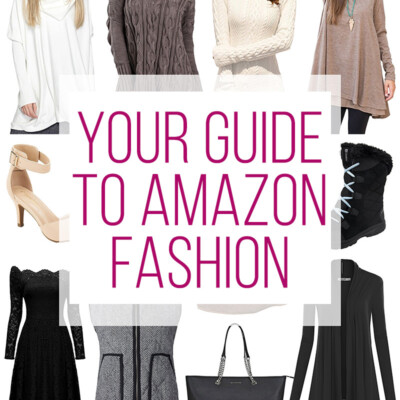How to Shop for Fashion Items on Amazon