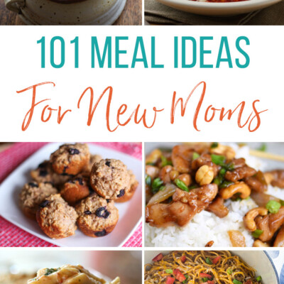 101 Meals to Take to New Moms