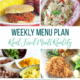 Real Food Menu Plan for February 19 to February 25: Easy and delicious meal ideas that the whole family will love. Posted every Friday at Thriving Home. Easy and delicious meal ideas that the whole family will love. Posted every Friday at Thriving Home.