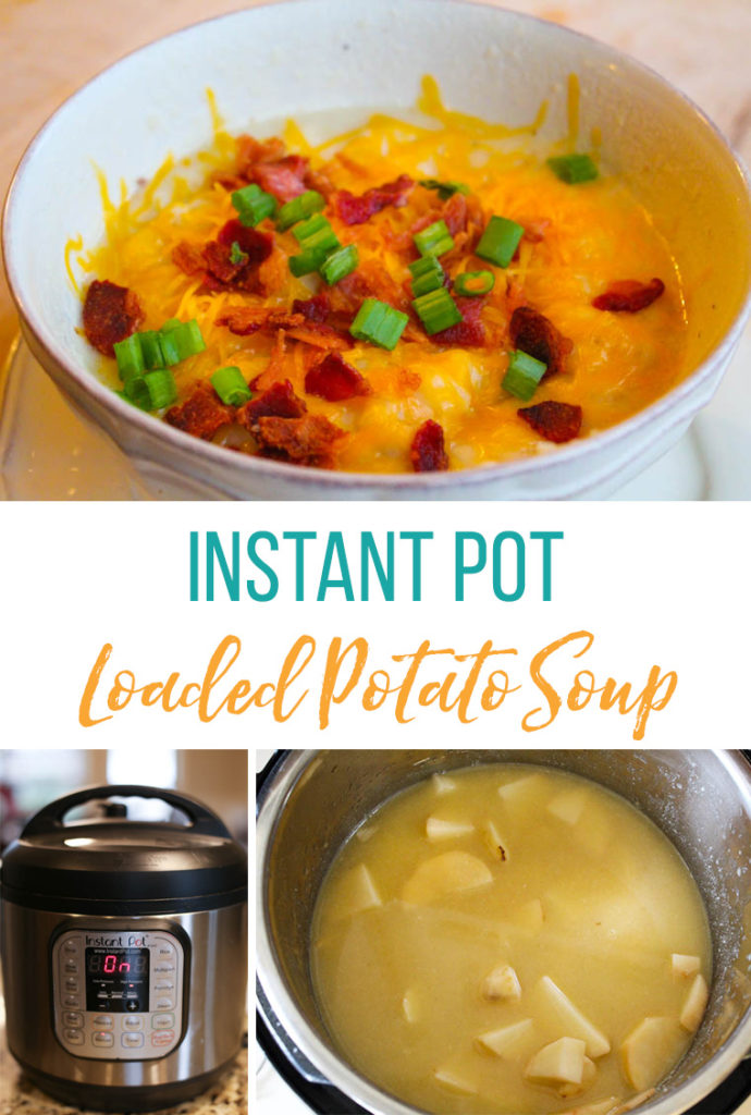 Freezer meal Instant Pot Potato Soup