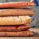 Freezer bags with freezer meals
