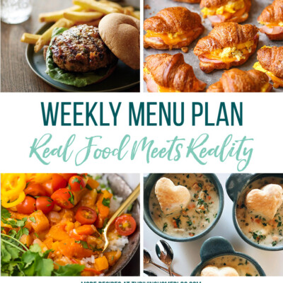 Weekly Menu Plan + Top 5 Stock Up and Save (3.9.18)