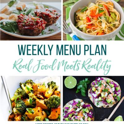 Weekly Menu Plan + Top 5 Stock Up and Save (3.16.18)