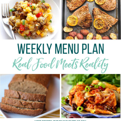 Weekly Menu Plan + Top 5 Stock Up and Save (3.23.18)