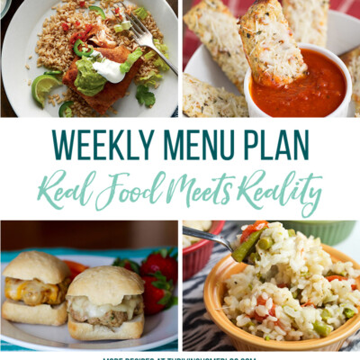 Weekly Menu Plan + Top 5 Stock Up and Save (3.30.18)