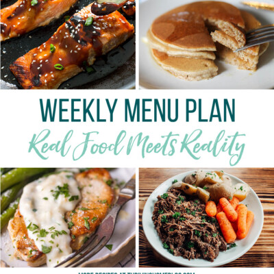 Weekly Menu Plan + Top 5 Stock Up and Save (3.2.18)
