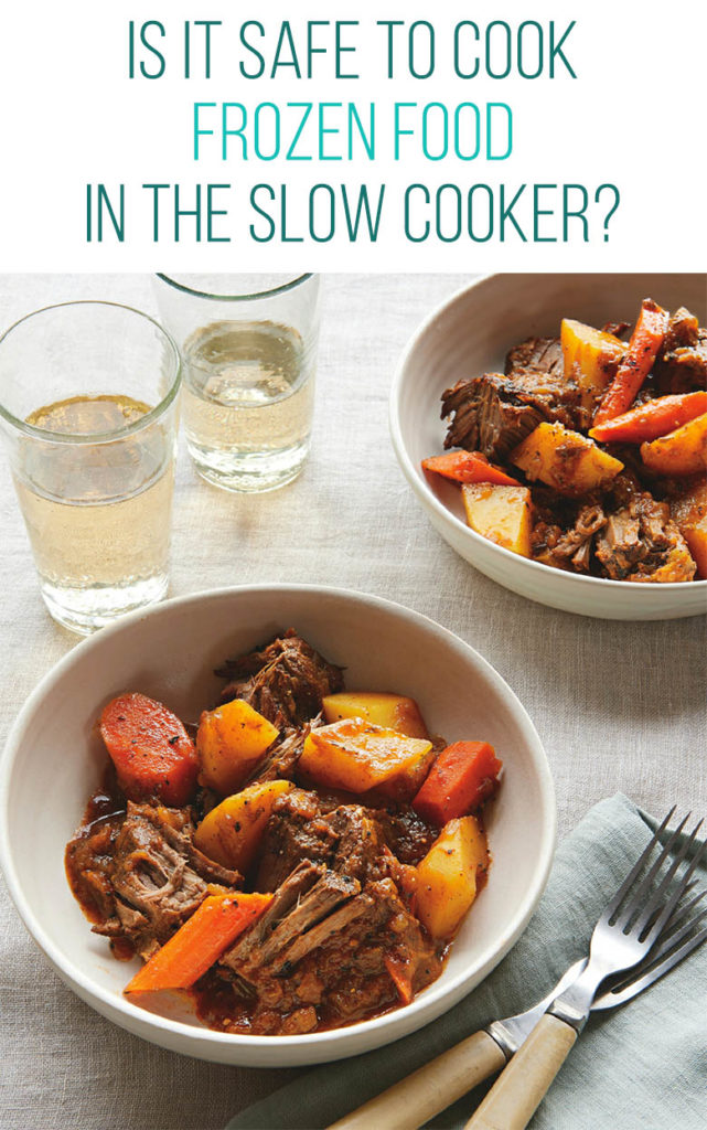 Image of slow cooker pot roast