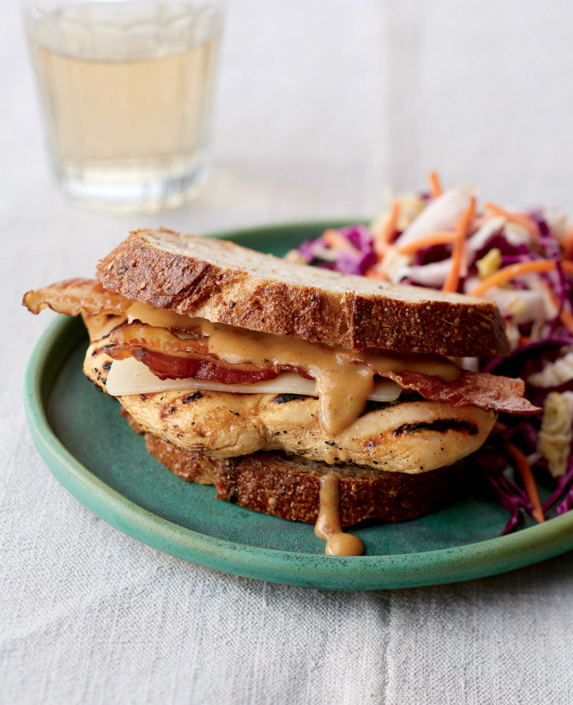 Honey Dijon Chicken Sandwich