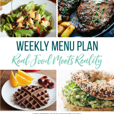 Weekly Menu Plan + Top 5 Stock Up and Save (4.13.18)