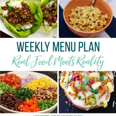 Weekly Menu Plan + Top 5 Stock Up and Save (4.20.18)