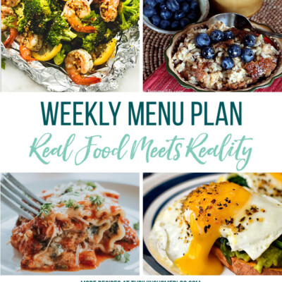 Weekly Menu Plan + Top 5 Stock Up and Save (4.27.18)