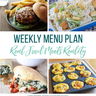 Weekly Menu Plan + Top 5 Stock Up and Save (5.11.18)