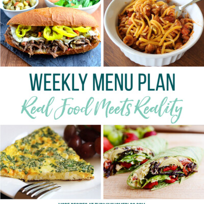 Weekly Menu Plan + Top 5 Stock Up and Save (5.18.18)