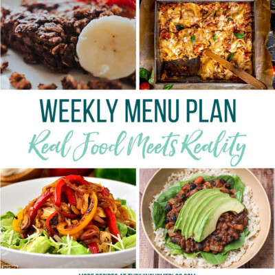 Weekly Menu Plan + Top 5 Stock Up and Save (5.25.18)