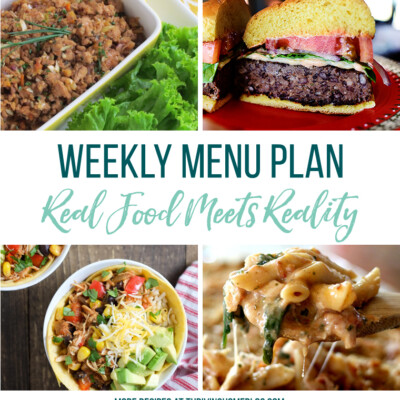 Weekly Menu Plan + Top 5 Stock Up and Save (5.4.18)