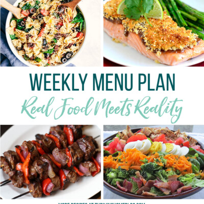 Weekly Menu Plan + Top 5 Stock Up and Save (6.8.18)