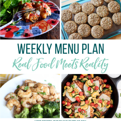 Weekly Menu Plan + Top 5 Stock Up and Save (6.15.18)