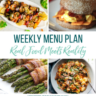 Weekly Menu Plan + Top 5 Stock Up and Save (6.22.18)
