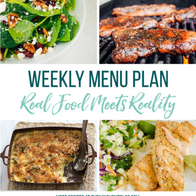 Weekly Menu Plan + Top 5 Stock Up and Save (7.13.18)