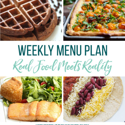 Weekly Menu Plan + Top 5 Stock Up and Save (7.20.18)
