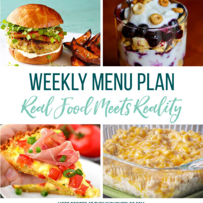 Weekly Menu Plan + Top 5 Stock Up and Save (7.27.18)