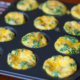 egg muffins in a muffin tin