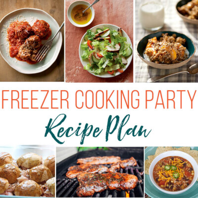 Freezer Meal Party Plans (+ Our Segment on Show Me St. Louis)