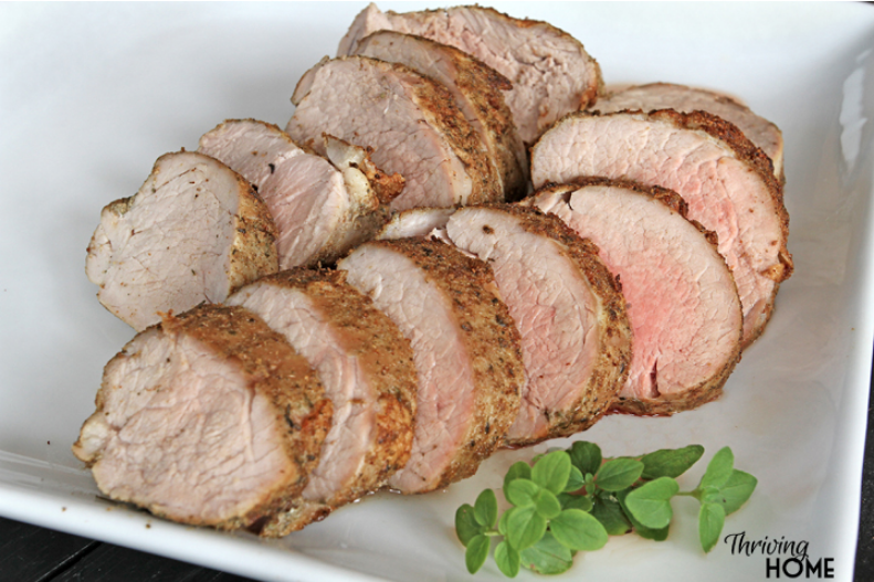 gluten-free pork tenderloin with seasoned rub