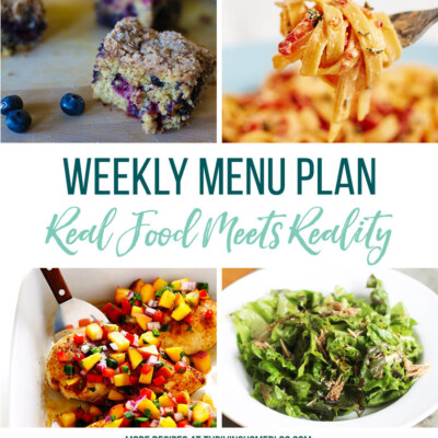 Weekly Menu Plan + Top 5 Stock Up and Save (8.17.18)