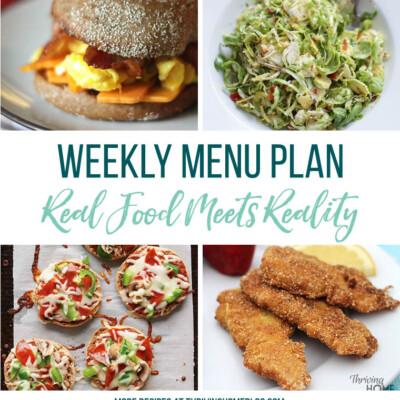 Weekly Menu Plan + Top 5 Stock Up and Save (8.24.18)