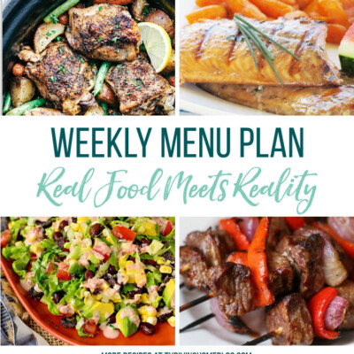 Weekly Menu Plan + Top 5 Stock Up and Save (9.3.18)