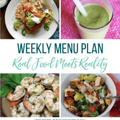 Weekly Menu Plan + Top 5 Stock Up and Save (8.10.18)