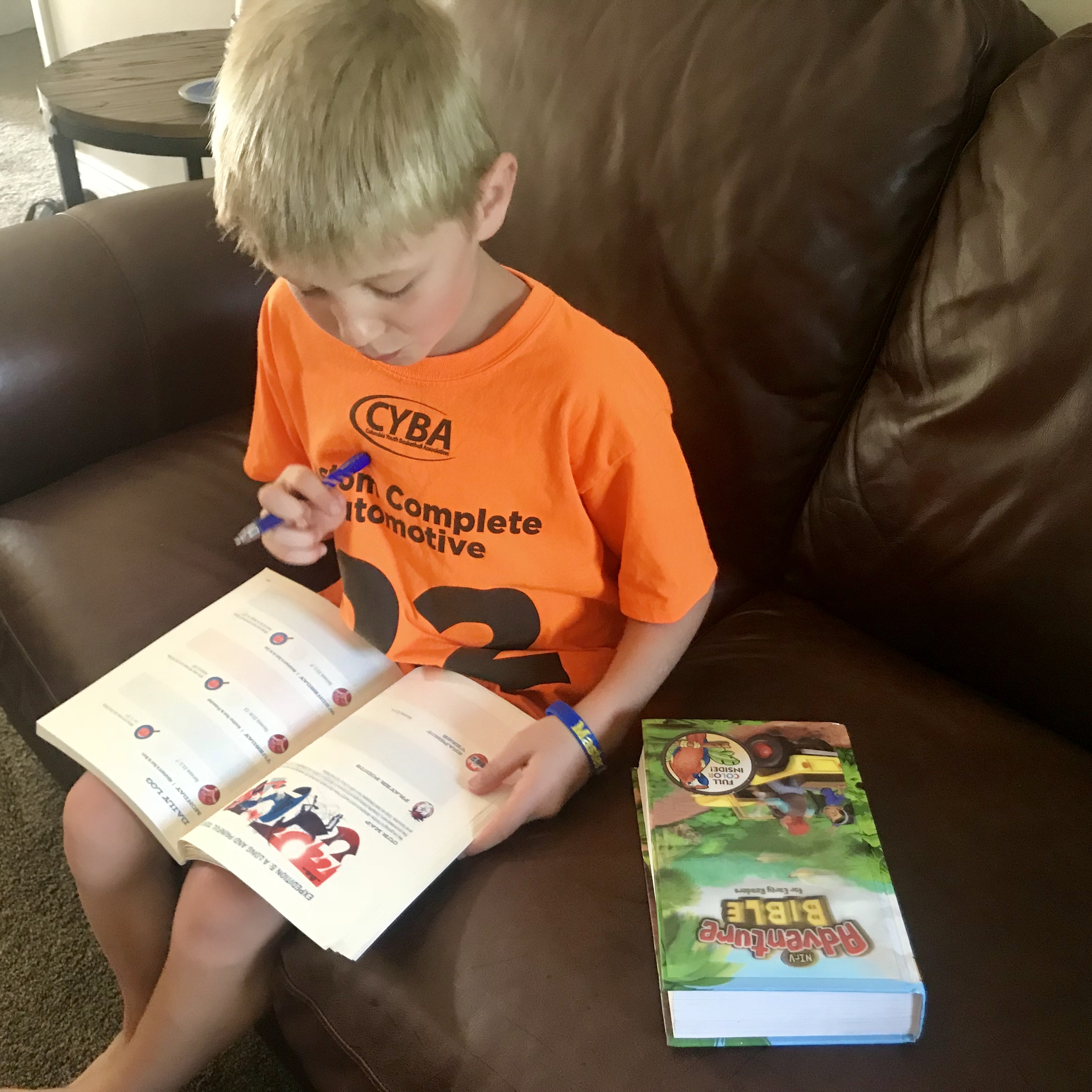 I've written quite a bit about children's Bibles and devotionals our family  has used over the years, which you can find here. Today, I want to share  about ...
