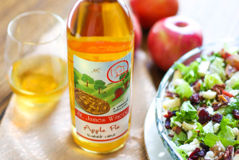 St. James Apple Pie Wine