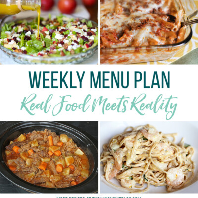 Weekly Menu Plan + Top 5 Hy-Vee Sale Items (9.28.18)