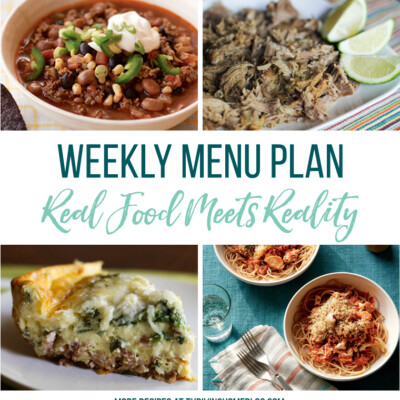 Weekly Menu Plan + Top 5 Hy-Vee Sale Items (9.21.18)