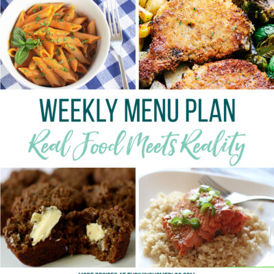 Weekly Menu Plan + Top 5 Stock Up and Save (9.17.18)