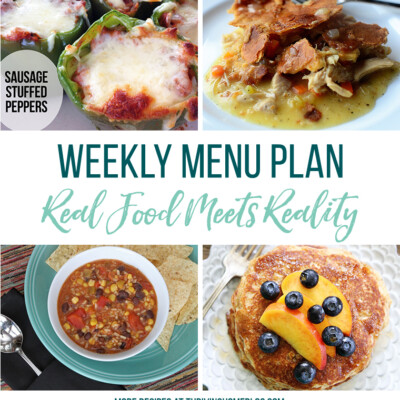 Weekly Menu Plan + Top 5 Stock Up and Save (9.10.18)
