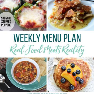 Weekly Menu Plan + Top 5 Stock Up and Save (9.10.18)